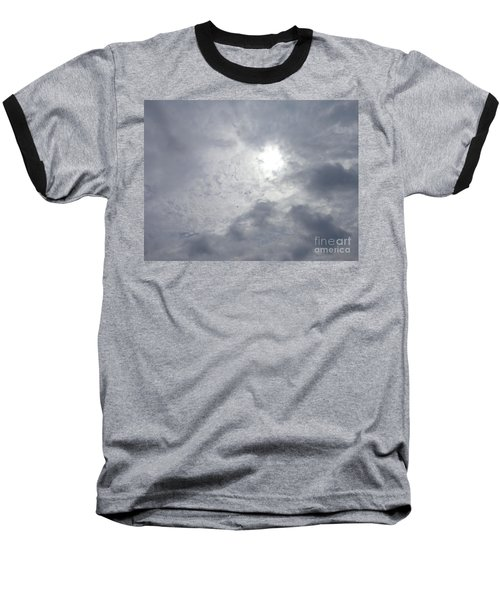 Baseball T-Shirt featuring the photograph Duck In Beautiful Sky by Christina Verdgeline