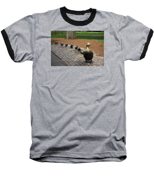 Ducklings Baseball T-Shirt by Christiane Schulze Art And Photography