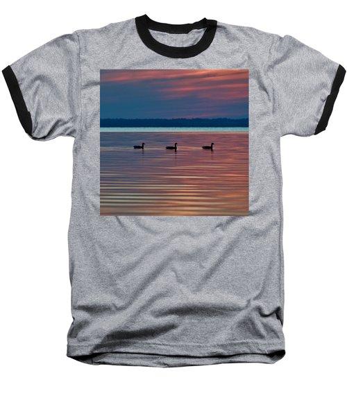 Ducks In A Row Baseball T-Shirt