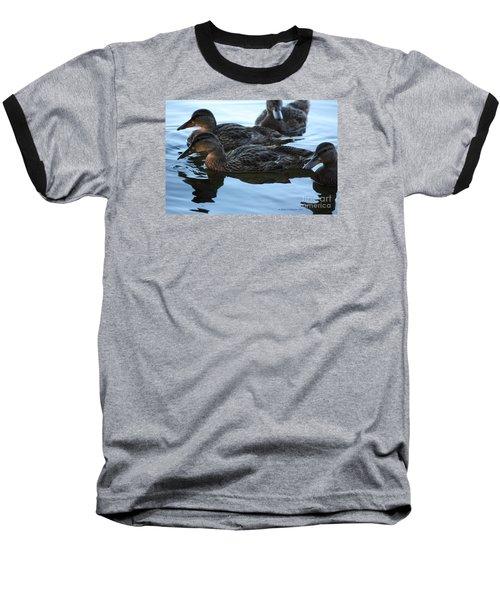Ducks Reflecting Baseball T-Shirt