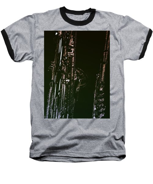 Duet Baseball T-Shirt by Photographic Arts And Design Studio