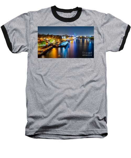 Duisburg Rhine East Bank Dammst Baseball T-Shirt