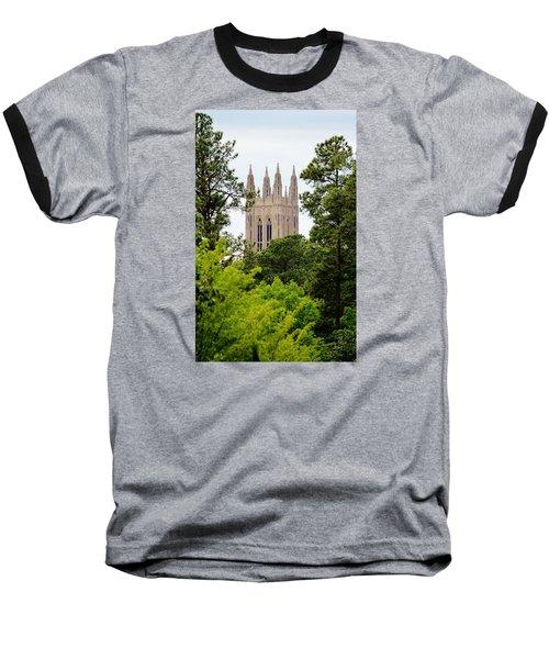 Duke Chapel Baseball T-Shirt by Cynthia Guinn
