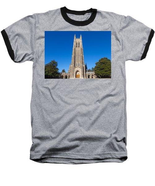 Duke Chapel Baseball T-Shirt by Melinda Fawver
