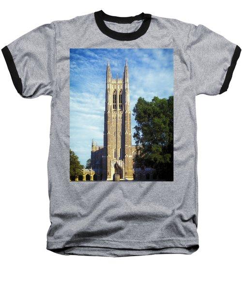 Duke University's Chapel Tower Baseball T-Shirt