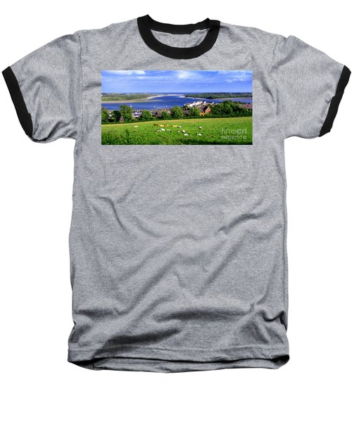 Dundrum Bay In County Down Ireland Baseball T-Shirt by Nina Ficur Feenan