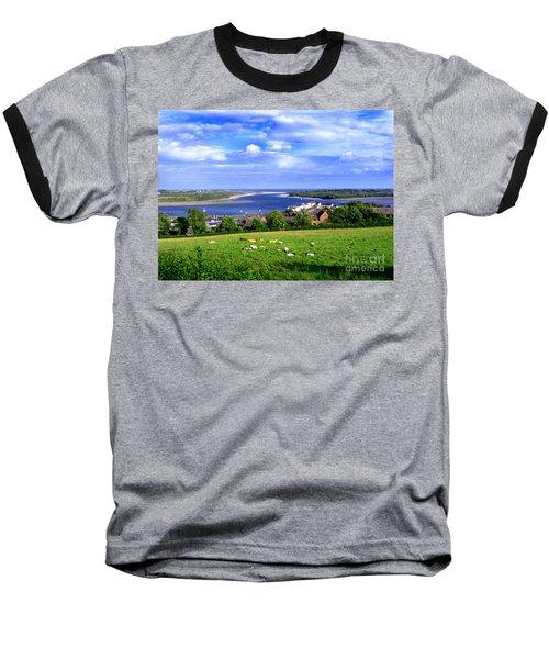Baseball T-Shirt featuring the photograph Dundrum Bay Irish Coastal Scene by Nina Ficur Feenan