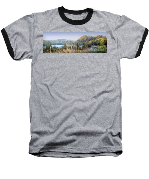 Dune Lake Panorama Saugatuck Mi Baseball T-Shirt