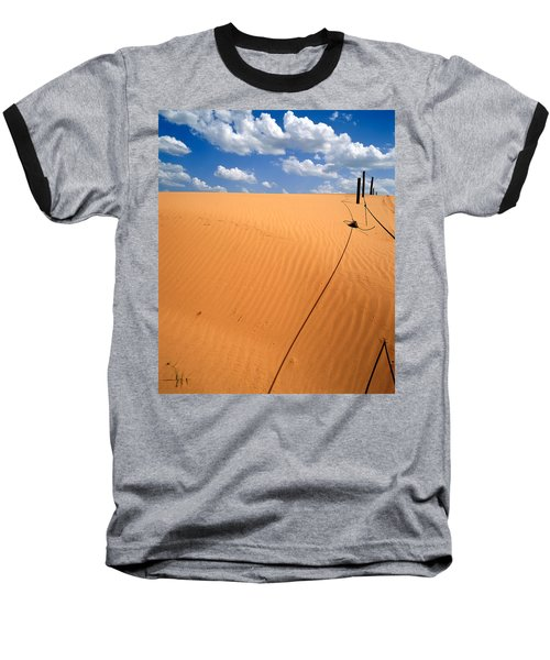Dunes And Clouds Baseball T-Shirt