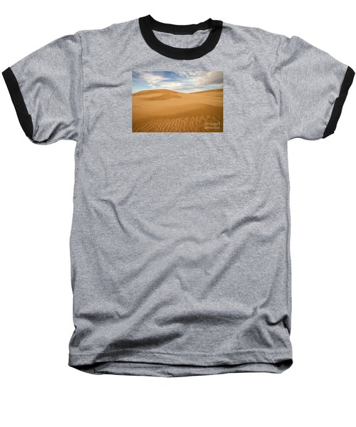 Dunescape Baseball T-Shirt by Alice Cahill