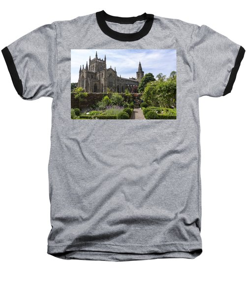 Dunfermline Abbey From The Abbot House Baseball T-Shirt