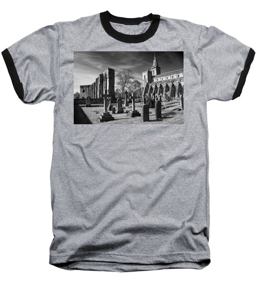 Dunfermline Palace And Abbey Baseball T-Shirt