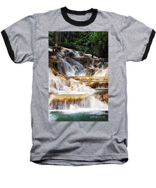 Dunn Falls _ Baseball T-Shirt