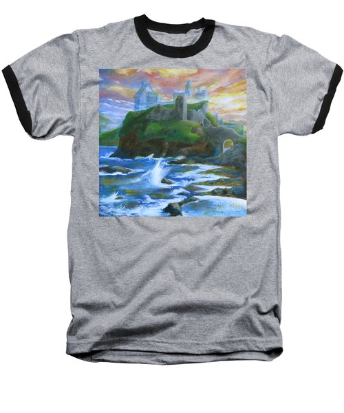 Dunscaith Castle - Shadows Of The Past Baseball T-Shirt