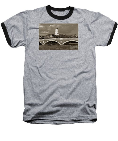 Weeks Bridge Charles River Bw Baseball T-Shirt