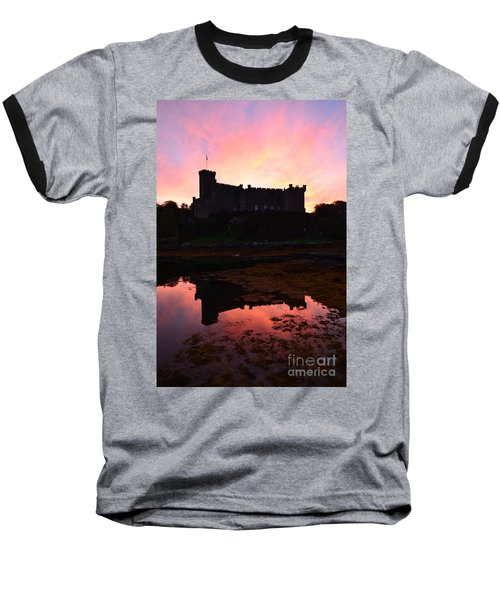 Dunvegan Castle At Dawn Baseball T-Shirt