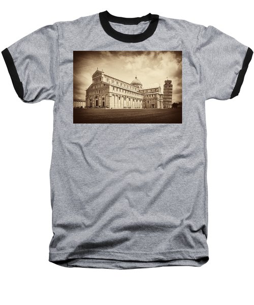 Baseball T-Shirt featuring the photograph Duomo And Tower by Hugh Smith