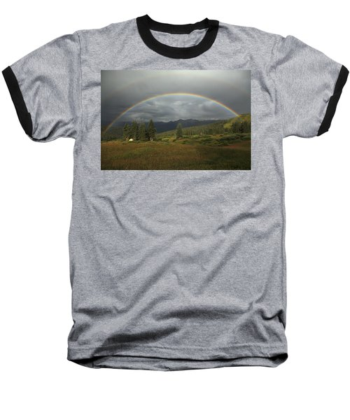 Durango Double Rainbow Baseball T-Shirt