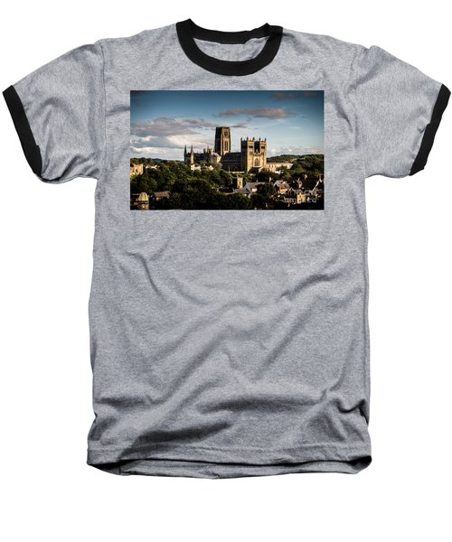 Baseball T-Shirt featuring the photograph Durham Cathedral by Matt Malloy