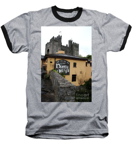 Durty Nellys And Bunraty Castle Baseball T-Shirt by Christiane Schulze Art And Photography