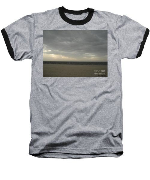 Dusk Beach Walk  Baseball T-Shirt