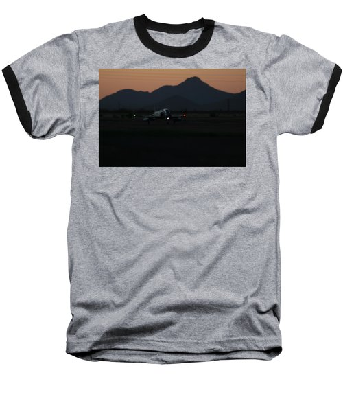 Dusk Return Baseball T-Shirt by David S Reynolds