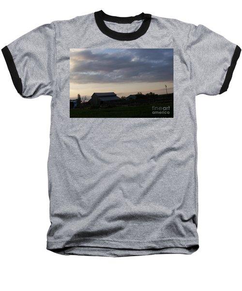 Baseball T-Shirt featuring the photograph Dusk Til Dawn by Bobbee Rickard