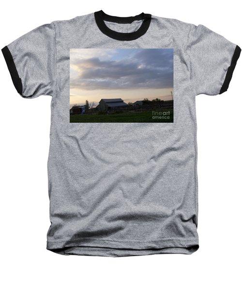 Baseball T-Shirt featuring the photograph Dusk To Dawn by Bobbee Rickard