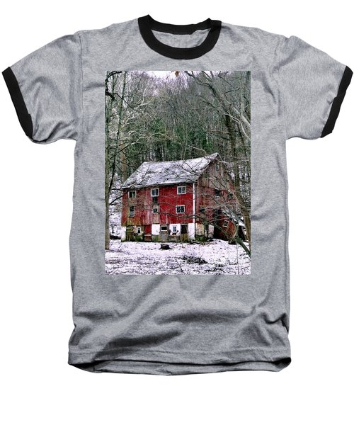 Baseball T-Shirt featuring the photograph Pennsylvania Dusting by Michael Hoard