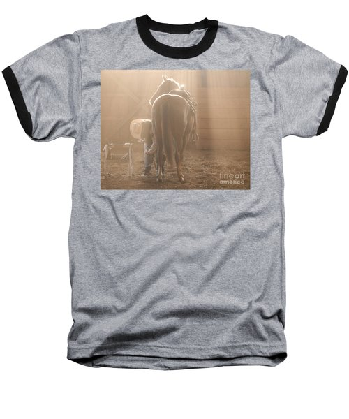 Dusty Morning Pedicure Baseball T-Shirt