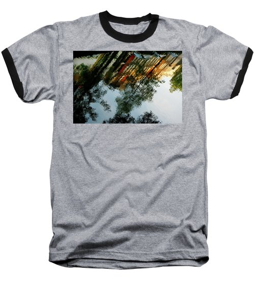 Dutch Canal Reflection Baseball T-Shirt