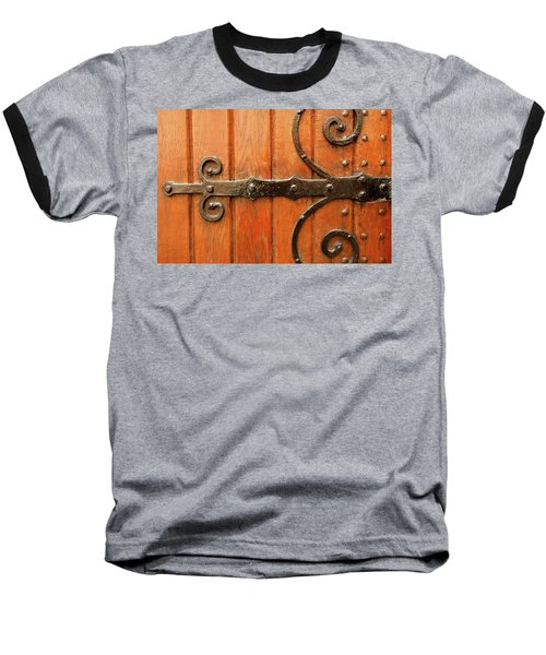 Baseball T-Shirt featuring the photograph Dutch Hinge by KG Thienemann