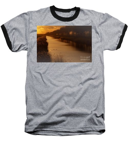 Dutch Landscape Baseball T-Shirt