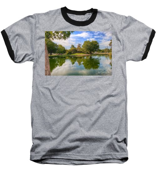 Baseball T-Shirt featuring the photograph Dutch Mill  by Liane Wright