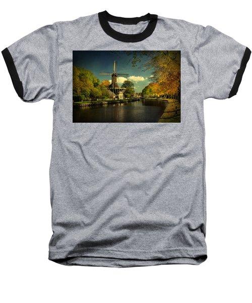 Dutch Windmill Baseball T-Shirt