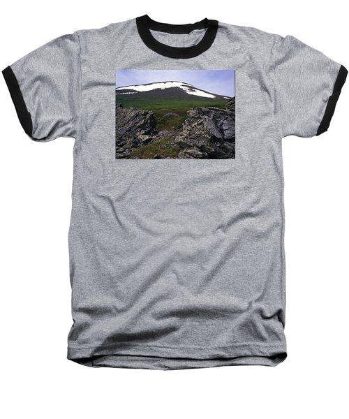 Dyatlov's Pass Baseball T-Shirt by Vladimir Kholostykh