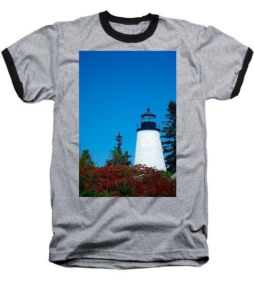 Dyce Head Lighthouse Baseball T-Shirt