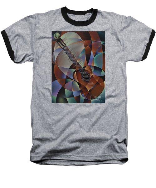 Dynamic Guitar Baseball T-Shirt