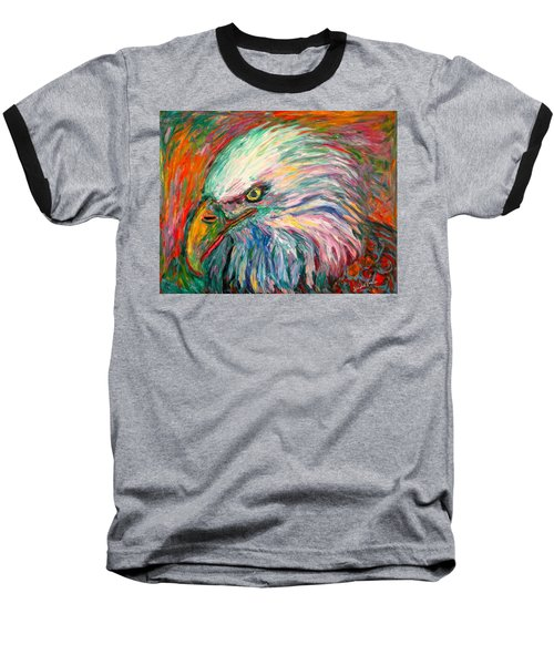 Eagle Fire Baseball T-Shirt by Kendall Kessler