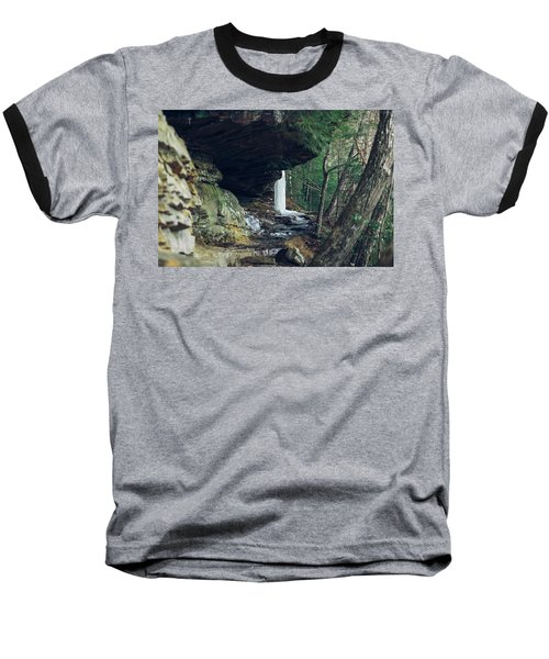 Eaglefalls Trail In Winter Baseball T-Shirt