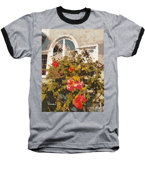 Baseball T-Shirt featuring the photograph Alameda Roses by Linda Weinstock