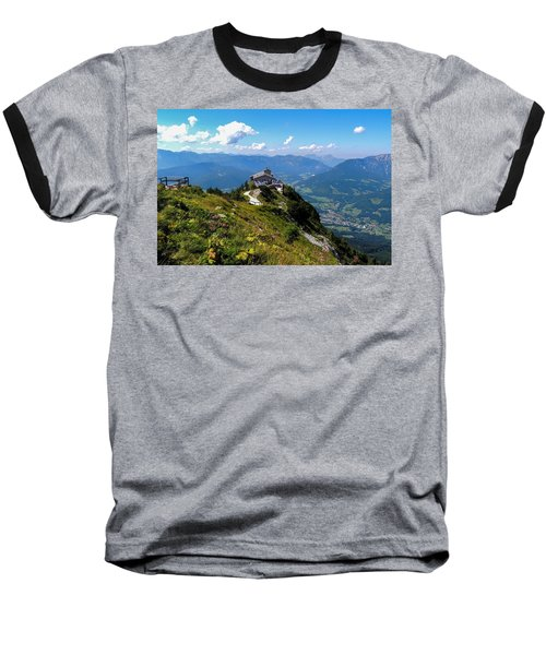 Eagle's Nest Baseball T-Shirt by Marilyn Burton