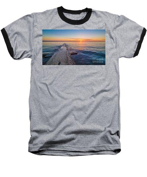 Early Breakwater Sunrise Baseball T-Shirt