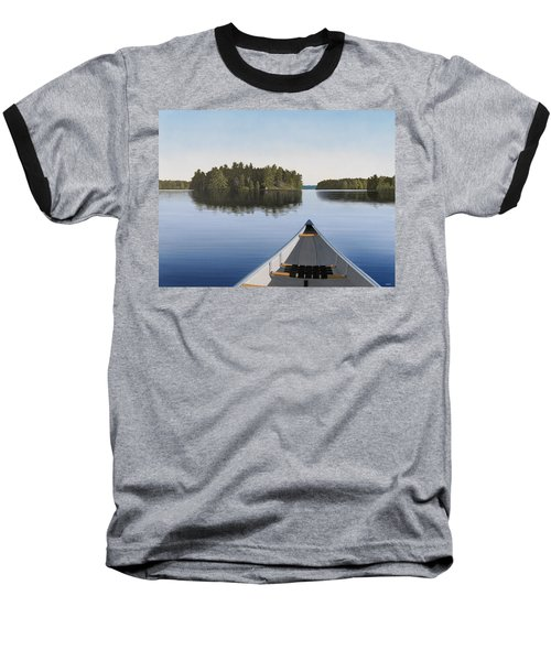 Early Evening Paddle  Baseball T-Shirt