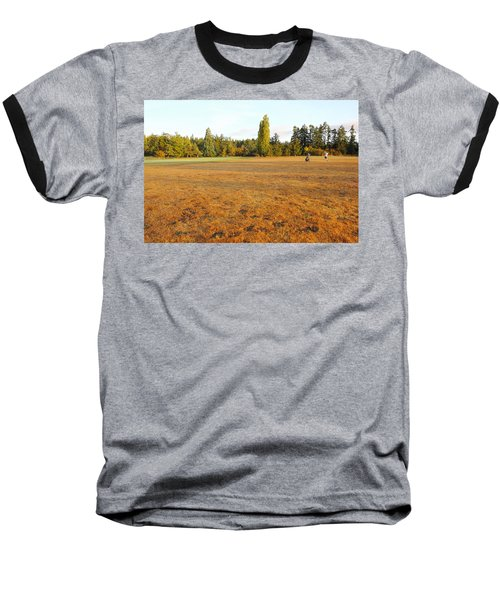 Early Fall Morning In The Rough On The Golf Course Baseball T-Shirt