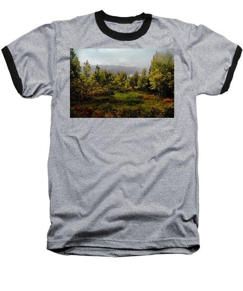 Baseball T-Shirt featuring the photograph Early Fall On Kebler Pass by Ellen Heaverlo
