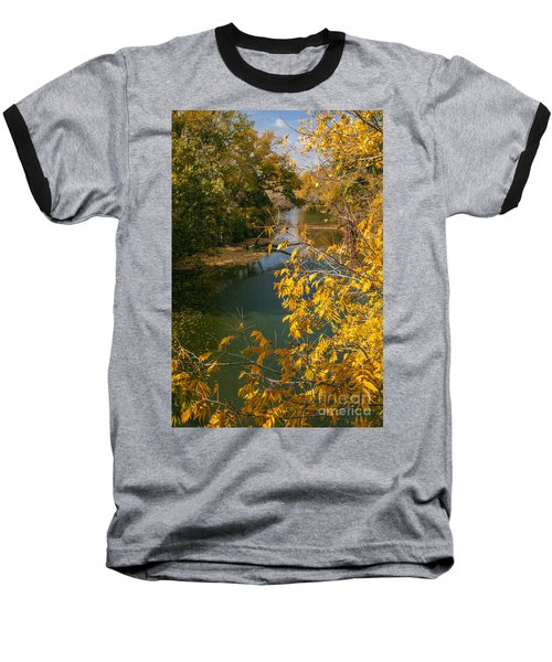 Early Fall On The Navasota Baseball T-Shirt