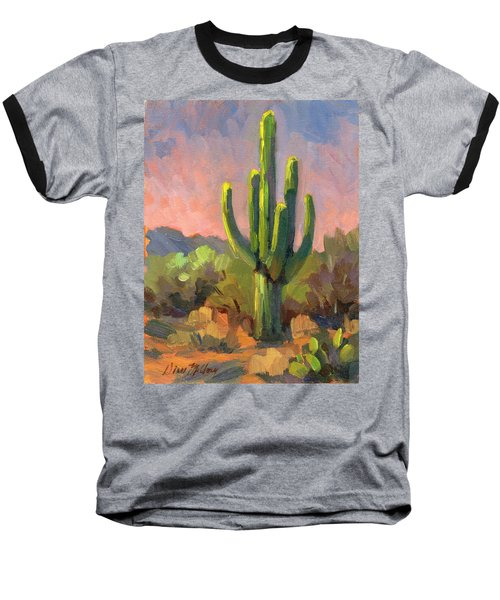 Early Light Baseball T-Shirt by Diane McClary
