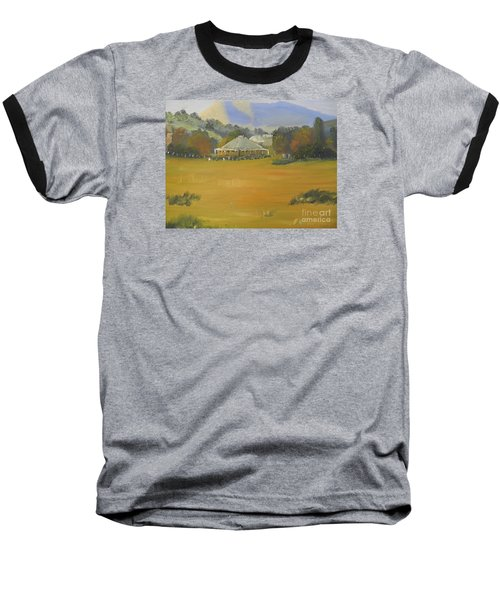 Early Morning At Sofala Baseball T-Shirt