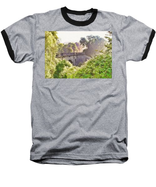 Early Morning Mist Baseball T-Shirt